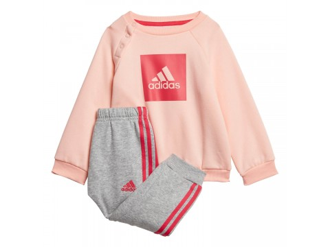 Tuta felpata adidas Performance 3-STRIPES FLEECE Infant GE0003