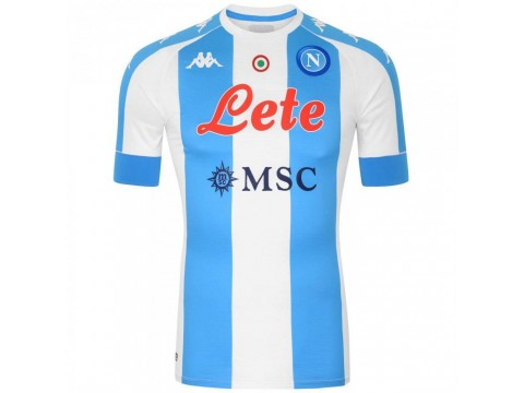 Kappa SSC Napoli Kombat Jersey - Special Edition 2020/2021 (Customizable with player name and number) 3119ZCW-A05