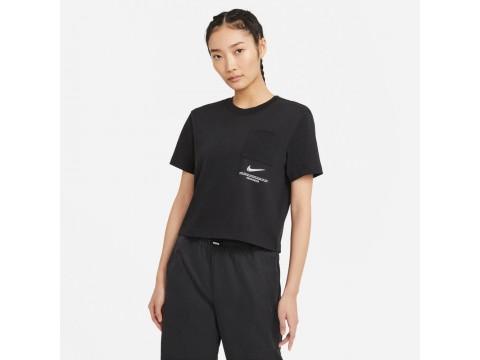 Nike Sportswear T-Shirt Swoosh a maniche corte Donna CZ8911-010