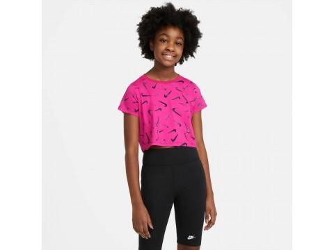 Nike Sportswear T-Shirt Swoosh Girl DC7348-615