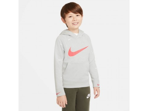 Nike Sportswear Felpa Swoosh Bambino DA0774-097