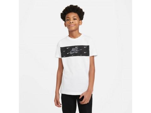 Nike Sportswear T-Shirt Panel Bambino DC7524-100